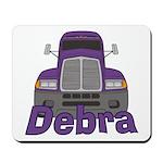 Trucker Debra Mousepad
