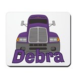Trucker Debra Mousepad
