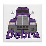 Trucker Debra Tile Coaster