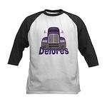 Trucker Delores Kids Baseball Jersey