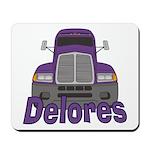 Trucker Delores Mousepad