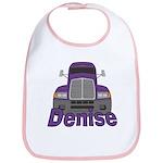 Trucker Denise Bib