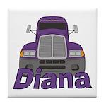 Trucker Diana Tile Coaster
