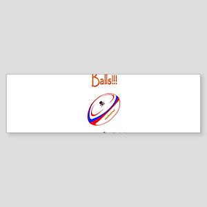 Balls Rugby 6000 Sticker (Bumper)