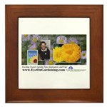 Eye on Gardening Host Logo Framed Tile