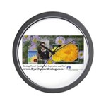 Eye on Gardening Host Logo Wall Clock