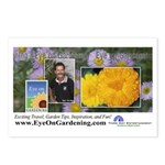 Eye on Gardening Host Logo Postcards (Package of 8
