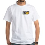 Eye on Gardening Host Logo White T-Shirt