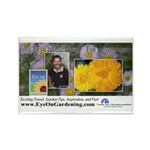 Eye on Gardening Host Logo Rectangle Magnet (10 pa