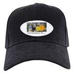 Eye on Gardening Host Logo Black Cap