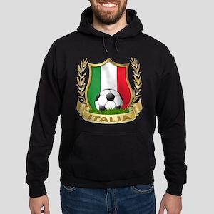 Italian World Cup Soccer Hoodie (dark)