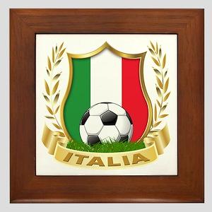 Italian World Cup Soccer Framed Tile