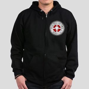 Sacred Heart Hospital Zip Hoodie (dark)