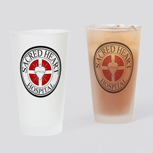Sacred Heart Hospital Drinking Glass