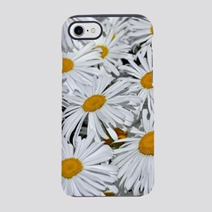 Pretty white daisy flowers iPhone 7 Tough Case