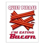 Quiet Please Small Poster