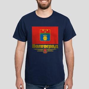 Volgograd Flag Dark T-Shirt