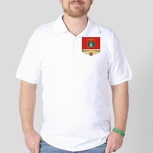 Volgograd Flag Golf Shirt
