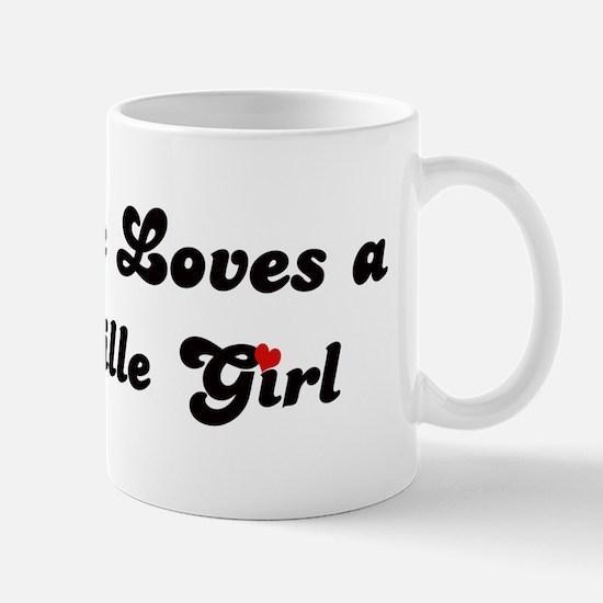 Loves Brazzaville Girl Mug