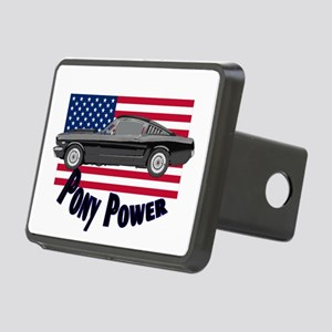 Pony Power Rectangular Hitch Cover