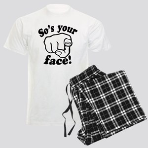 So's Your Face Men's Light Pajamas
