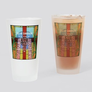 Act of Contrition Prayer Glass Drinking Glass