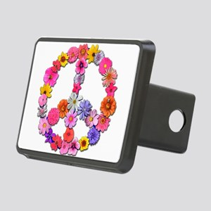 FloralPeace Rectangular Hitch Cover