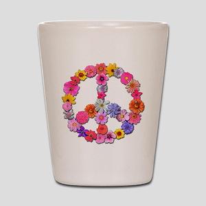 FloralPeace Shot Glass