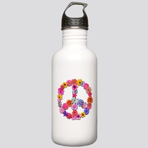 FloralPeace Stainless Water Bottle 1.0L