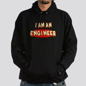 I am an Engineer Hoodie (dark)