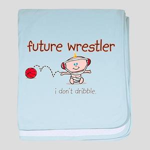 FutureWrestler baby blanket