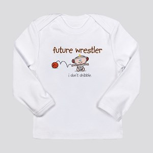 FutureWrestler Long Sleeve Infant T-Shirt