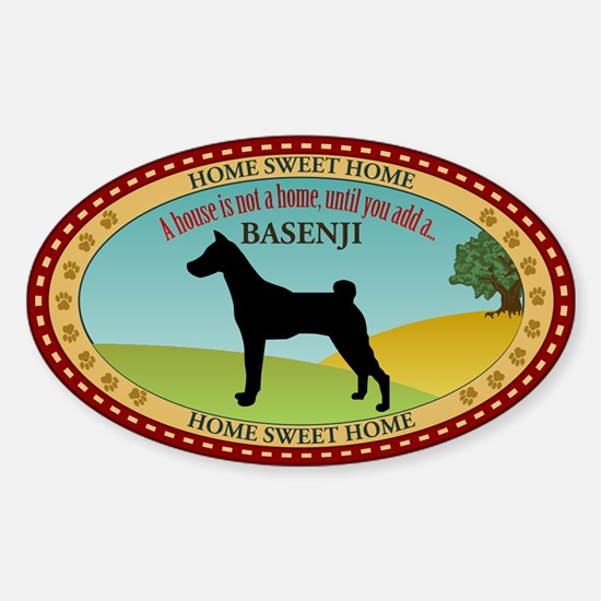 Basenji Sticker (Oval)