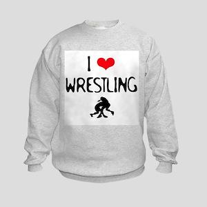 ILoveWrestling Kids Sweatshirt