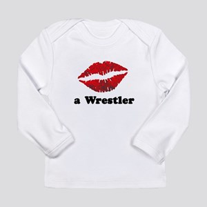KissAWrestler Long Sleeve Infant T-Shirt