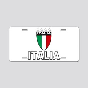 Italian World Cup Soccer Aluminum License Plate