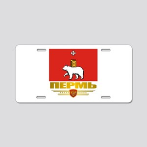 Perm Flag Aluminum License Plate