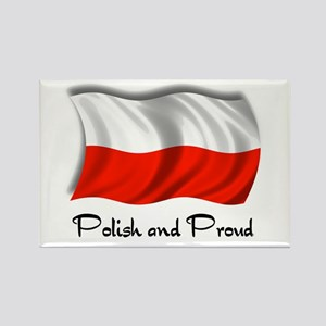 Polish and Proud Rectangle Magnet