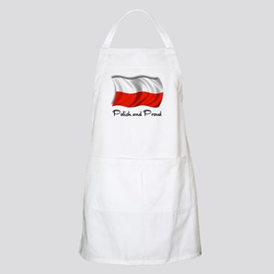 Polish and Proud BBQ Apron