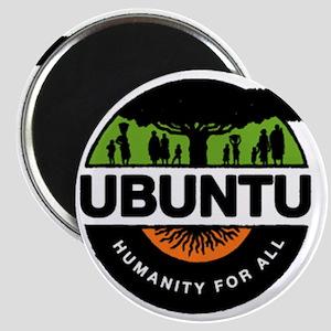 New Improved Ubuntu logo Magnet