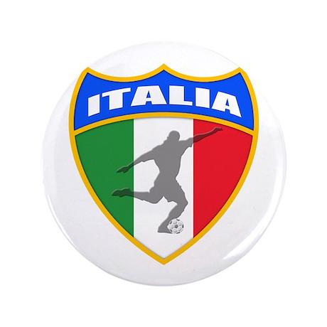 "Italian World Cup Soccer 3.5"" Button"