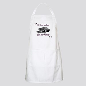 Labs are Family Apron