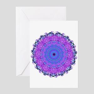 Psyche Mandala Greeting Card