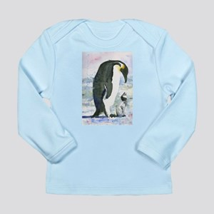 Penguin Parent Long Sleeve Infant T-Shirt