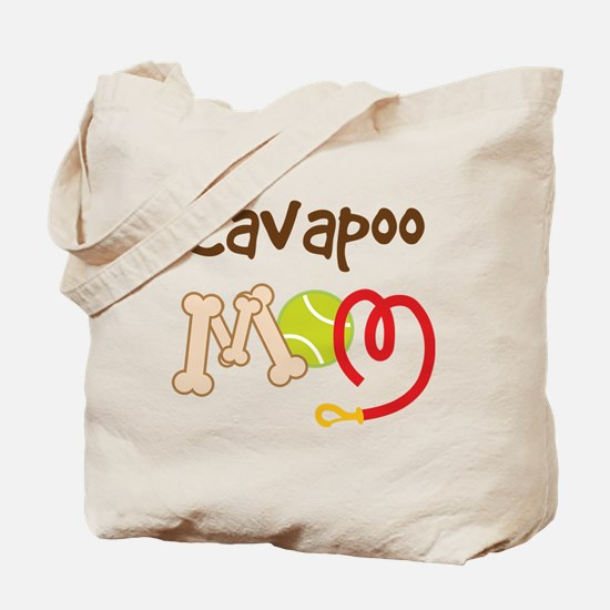 Cavapoo Dog Mom Tote Bag