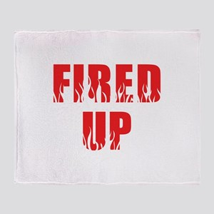 Fired Up Throw Blanket