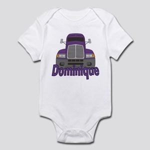 Trucker Dominique Infant Bodysuit