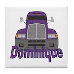 Trucker Dominique Tile Coaster