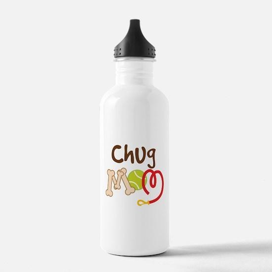 Chug Dog Mom Water Bottle