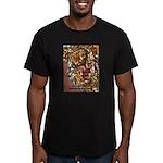 manuelladesign Men's Fitted T-Shirt (dark)